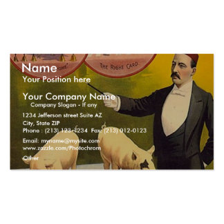 The Barnum & Bailey greatest show on earth--Troupe Business Card Template