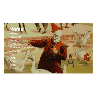 The Barnum & Bailey greatest show on earth Wonderf Pack Of Standard Business Cards