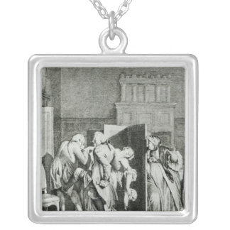 The Baron...saluted Candide Silver Plated Necklace