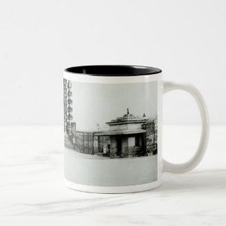 The Barriere de l'Etoile, Paris, 1858-78 Two-Tone Coffee Mug