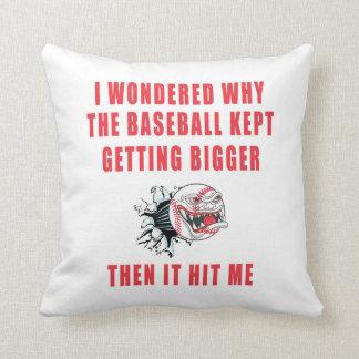 The Baseball Cushion