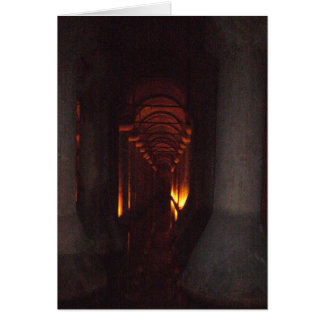 The Basilica Cistern of Istanbul Photo Greeting Card