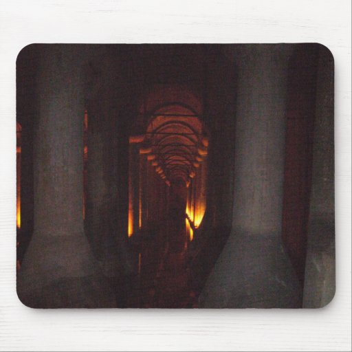 The Basilica Cistern of Istanbul Photo Mouse Pad