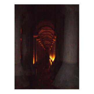 The Basilica Cistern of Istanbul Photo Postcard