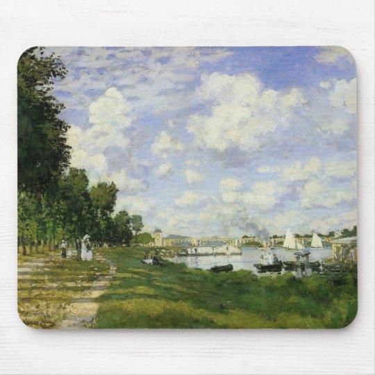The Basin at Argenteuil - Claude Monet Mouse Mat
