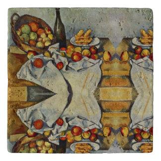 The Basket of Apples by Paul Cezanne Trivet