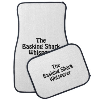 the basking shark whisperer car mat