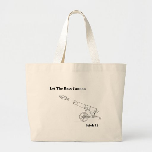The Bass Cannon Canvas Bags