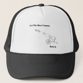 The Bass Cannon Trucker Hat