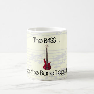 The Bass Holds the Band Together Mug