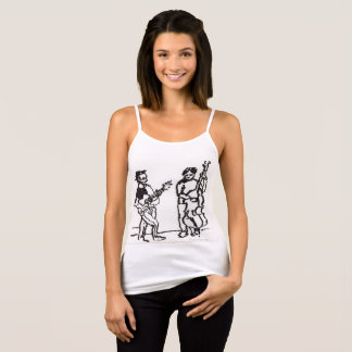 The Bass Player and the Guitar Player Tank Top