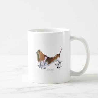 the basset hound, tony fernandes basic white mug