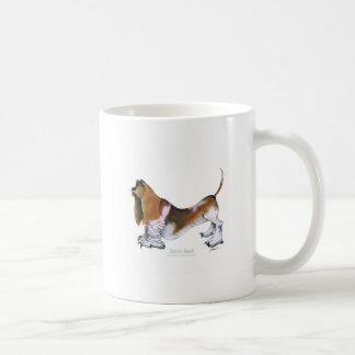 the basset hound, tony fernandes basic white mug