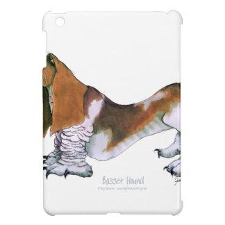 the basset hound, tony fernandes iPad mini cover