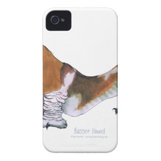 the basset hound, tony fernandes iPhone 4 case