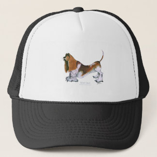 the basset hound, tony fernandes trucker hat