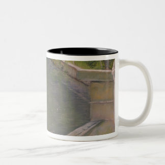 The Bather, or The Diver, 1877 Two-Tone Coffee Mug