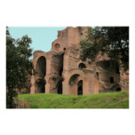 The Baths of Caracalla Poster