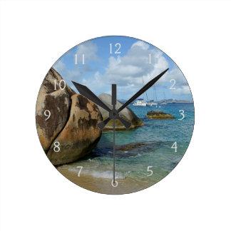 The Baths Round Clock