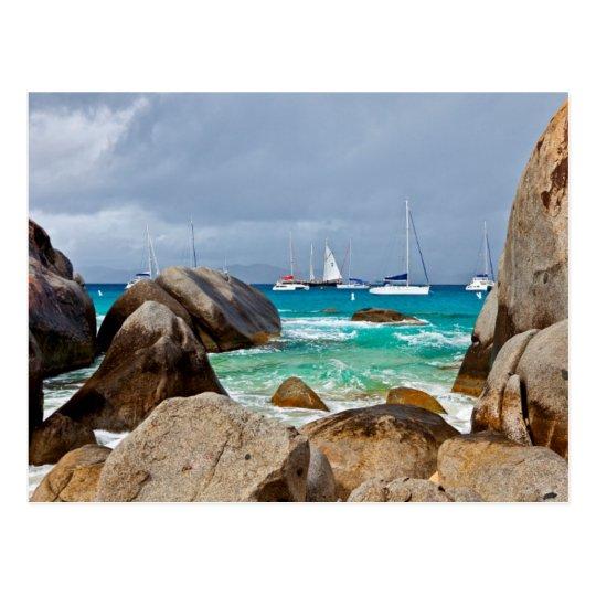 The Baths, Virgin Gorda, British Virgin Islands Postcard