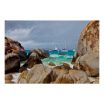 The Baths, Virgin Gorda, British Virgin Islands Poster