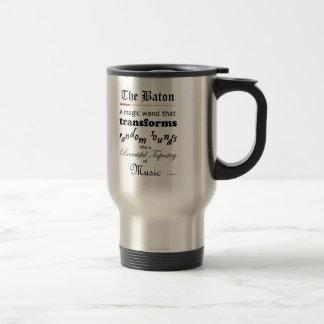 The Baton 15 Oz Stainless Steel Travel Mug