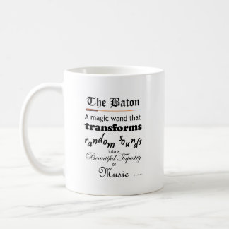 The Baton Coffee Mug