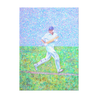 The Batsman Canvas Print