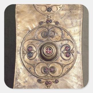 The Battersea Shield, c.350-50 BC Square Sticker