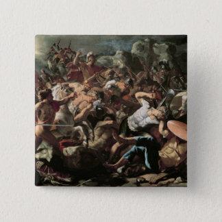 The Battle 15 Cm Square Badge