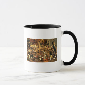 The Battle between Carnival and Lent Mug