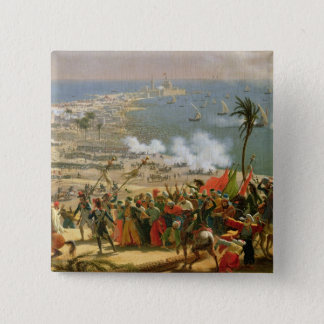 The Battle of Aboukir, 25th July 1799 15 Cm Square Badge