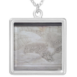 The Battle of Agnadello Silver Plated Necklace