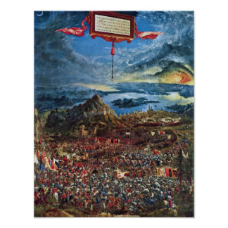 The Battle Of Alexander At Issus Poster