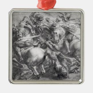 The Battle of Anghiari after Leonardo da Vinci Christmas Ornament