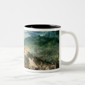 The Battle of Arbelles, or the Battle of Issus, 16 Two-Tone Mug