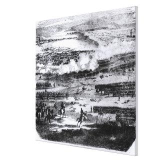 The Battle of Austerlitz, 2 December 1805 Canvas Print