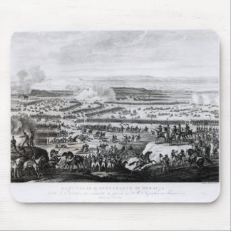 The Battle of Austerlitz in Moravia Mouse Mat