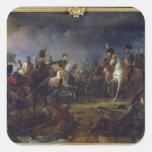The Battle of Austerlitz Square Sticker