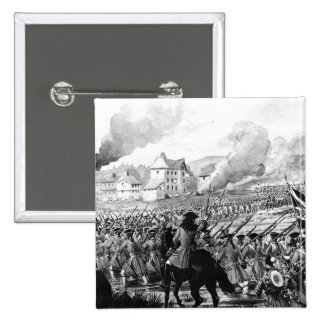 The Battle of Blenheim in 1704 15 Cm Square Badge