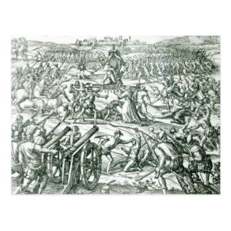 The Battle of Cajamarca, 1532 Postcard