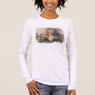 The Battle of Cape St. Vincent, February 14th 1797 Long Sleeve T-Shirt