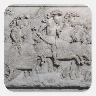 The Battle of Cerisoles Square Sticker