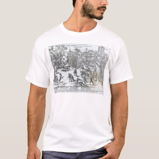 The Battle of Courtrai Between the French T-Shirt