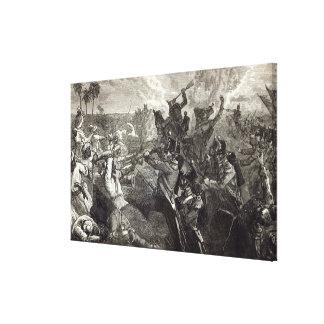 The Battle of Ferozeshah Canvas Print