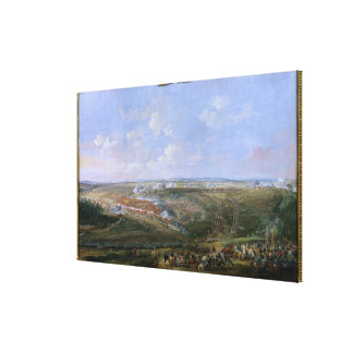 The Battle of Fontenoy, 11th May 1745, 1779 Canvas Print