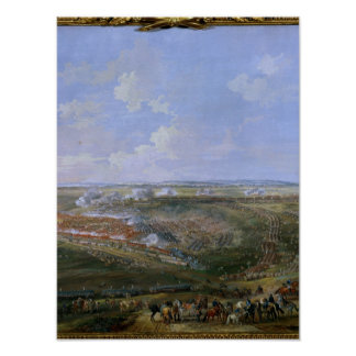 The Battle of Fontenoy, 11th May 1745, 1779 Poster