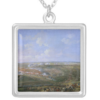The Battle of Fontenoy, 11th May 1745, 1779 Silver Plated Necklace