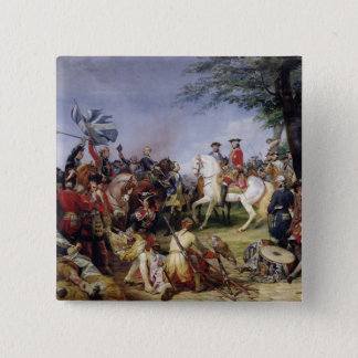 The Battle of Fontenoy, 11th May 1745, 1828 15 Cm Square Badge