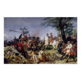 The Battle of Fontenoy, 11th May 1745, 1828 Poster